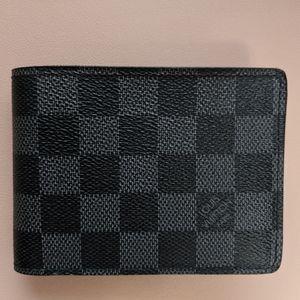 Louis Vuitton Multiple Wallet (Graphite)
